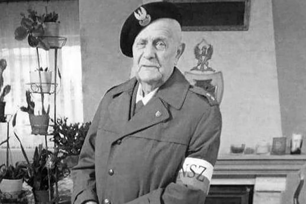 """Por. Tadeusz Gaertner ps. """"Kruk""""."""