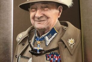 """Mjr Józef Oleksiewicz ps. """"Tatar"""", portret."""