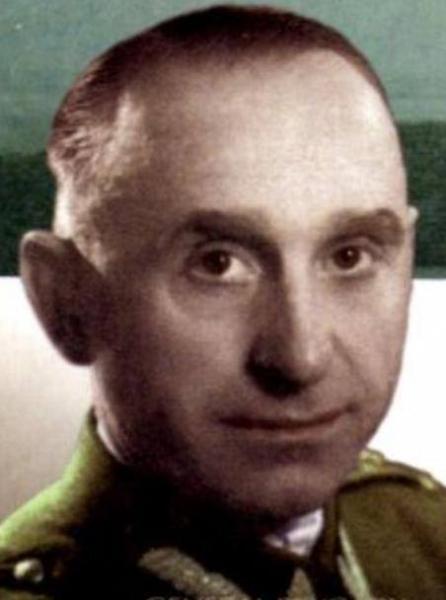 """Mjr Eugeniusz Kerner ps. """"Kazimierz""""."""