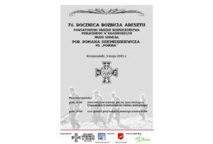 76. rocznica rozbicia aresztu PUBP w Krasnosielcu.