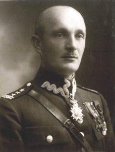 """Płk Ignacy Oziewicz ps. """"Czesław""""."""