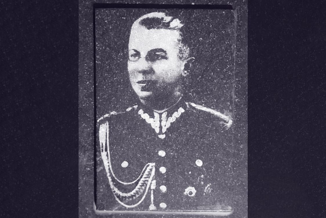 """Mjr Wacław Czermiński ps. """"Olgierd Mirski""""."""